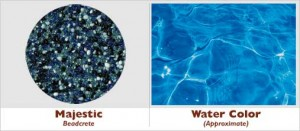 Majestic Beadcrete Glass Bead Pool Finish