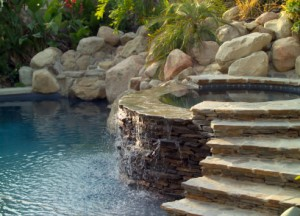 Spa, Water Features, Swimming Pool remodel, northridge, ca